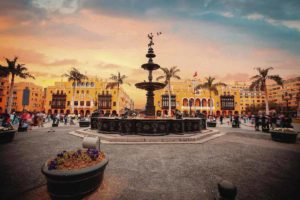 Lima main square, plaza de armas, lima culture, peru, machu picchu, peruvian culture, cusco, hotels in lima