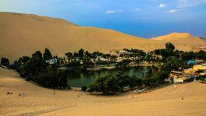 Ica, huacachina lagoon, desert, oasis, peru oasis, huacachina desert
