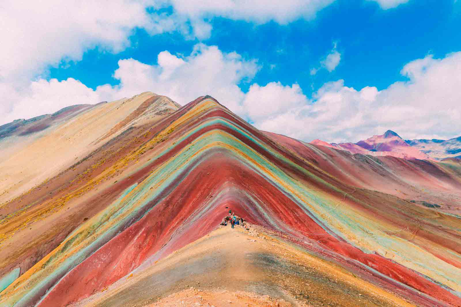 rainbow mountain altitude, elevation, rainbow mountain hike
