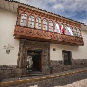 Aranwa Cusco hotel, boutique, peru, machu picchu hotel, cusco, main square